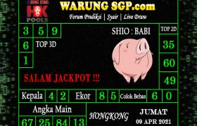 Warung Syair Hongkong 09 April 2021