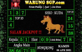 Warung Syair Hongkong 08 April 2021